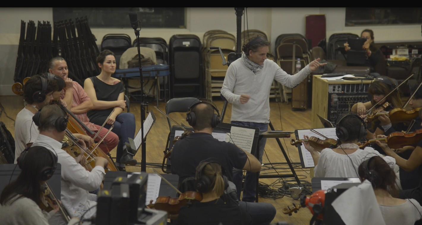 ALICANTE séance d'enregistrement salle Colonne